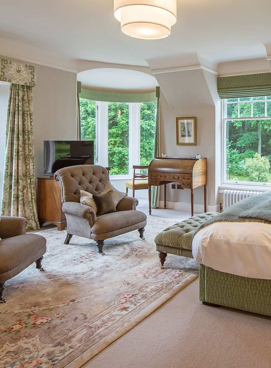 Lady MacRobert Suite Douneside House