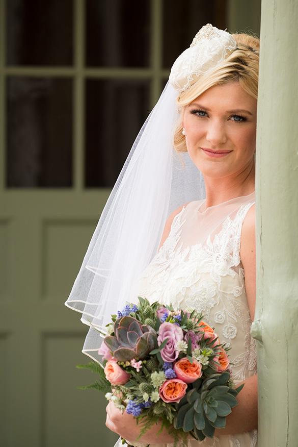 Bride at Wedding - Douneside House