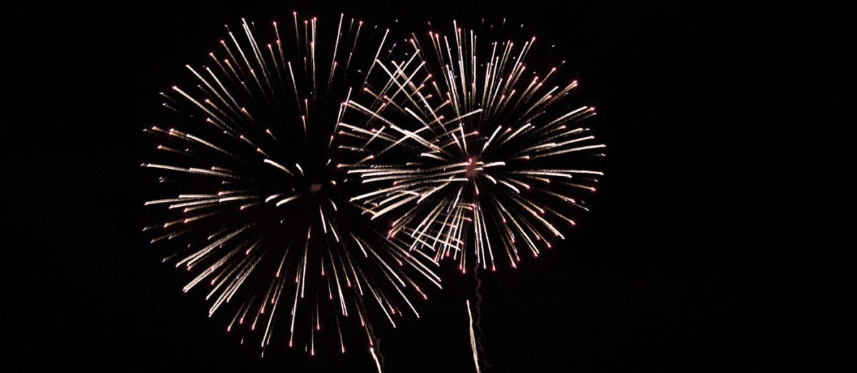 fireworks at douneside