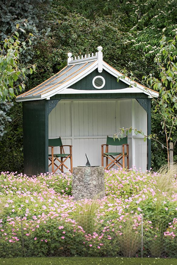 Douneside House Gardens Summerhouse