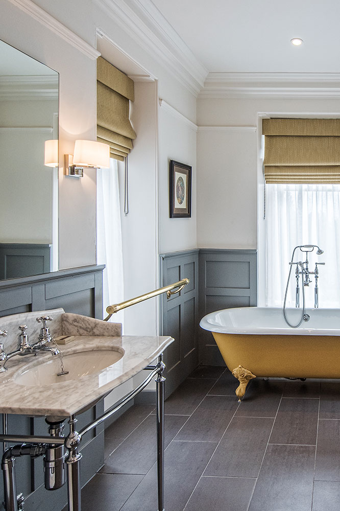 Luxury Scottish Hotel Bathroom Douneside House
