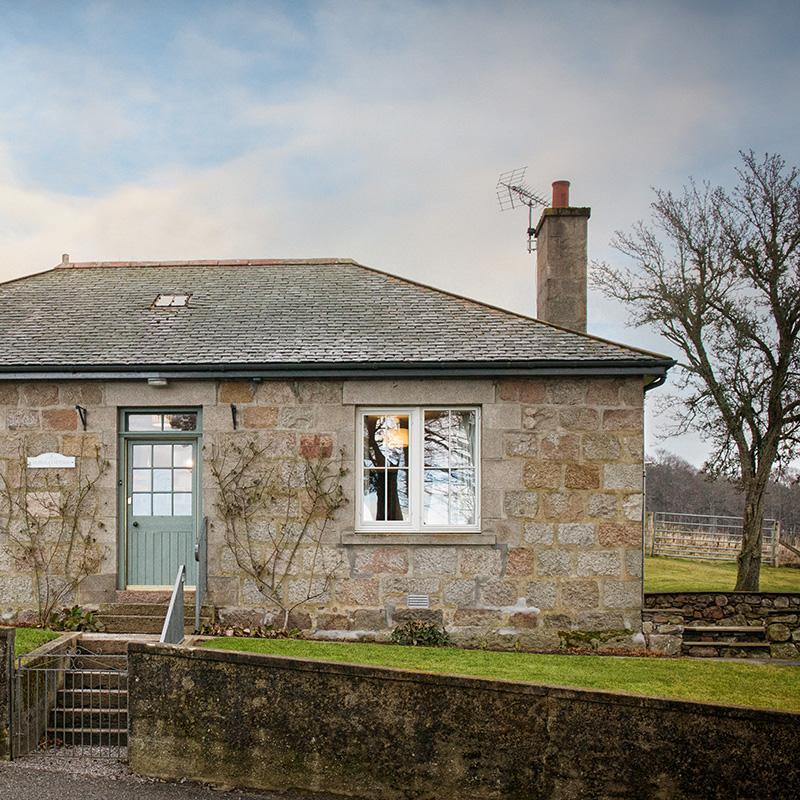 alpha cottage exterior