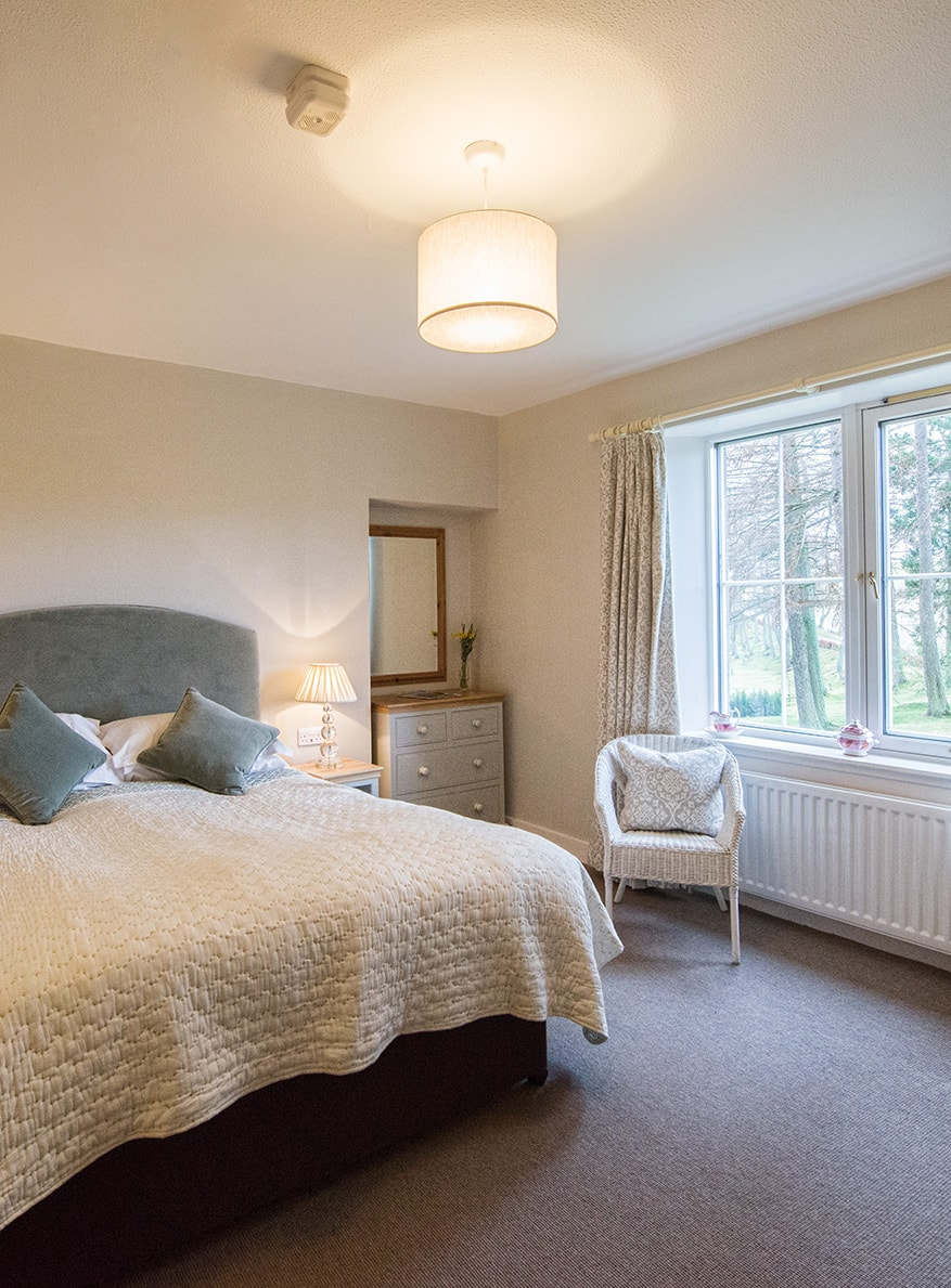 Alpha Pet Friendly Holiday Cottage Bedroom