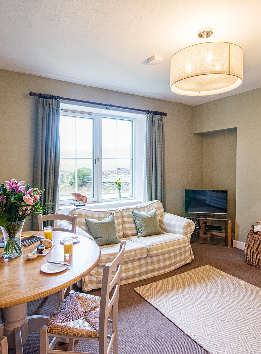 Alpha Pet Friendly Holiday Cottage Lounge