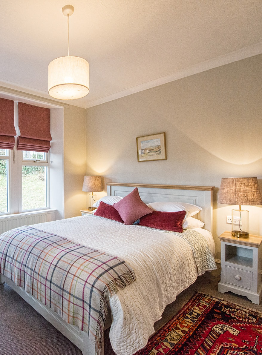 Gatehouse Dog Friendly Holiday Cottage Bedroom