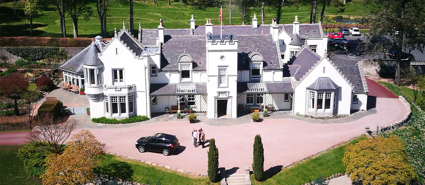 douneside house aerial